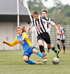 26 June 2021. Montreuil Sur Mer, Hauts de France, France.<br /> US Montreuil U15 v Berck U17.<br /> Montreuil a gagné 1-0<br /> Photo©; Charlie Varley/varleypix.com