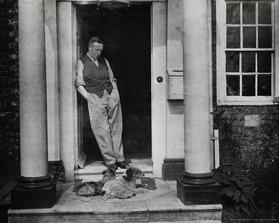 S.P.B. Mais at Southwick, Sussex, England, UK, 1932