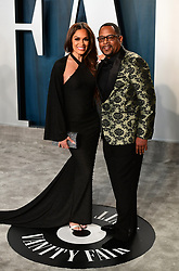 Roberta Moradfar and Martin Lawrence attending the Vanity Fair Oscar Party held at the Wallis Annenberg Center for the Performing Arts in Beverly Hills, Los Angeles, California, USA.