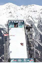 06.02.2016, Olympiaworld, Innsbruck, AUT, Air and Style, Innsbruck, am Samstag. 06. Februar 2016, während des Air & Style Snowboard Events in Innsbruck. // Mons Roisland of Norway competes in the Air & Style Snowboard Event in Innsbruck, Austria, 06 February 2016, im Bild Mons Roisland (NOR) // Mons Roisland of Norway during the Air & Style Snowboard Competition and Festival at the Olympiaworld in Innsbruck, Austria on 2016/02/06. EXPA Pictures © 2016, PhotoCredit: EXPA/ Jakob Gruber
