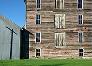Historic Mary Jane's Mill structure, Oakesdale, Washington, Palouse region.