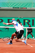 Roland Garros. Paris, France. June 4th 2006..James Blake against Gael Monfils.
