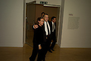 Manuela Mena; Norman Rosenthall, Francis Bacon opening private view and dinner. Tate Britain. 8 September 2008 *** Local Caption *** -DO NOT ARCHIVE-© Copyright Photograph by Dafydd Jones. 248 Clapham Rd. London SW9 0PZ. Tel 0207 820 0771. www.dafjones.com.