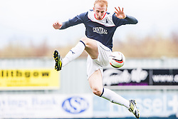 Falkirk's Mark Beck.<br /> Falkirk 5 v 0 Cowdenbeath, Scottish Championship game played today at The Falkirk Stadium.<br /> © Michael Schofield.