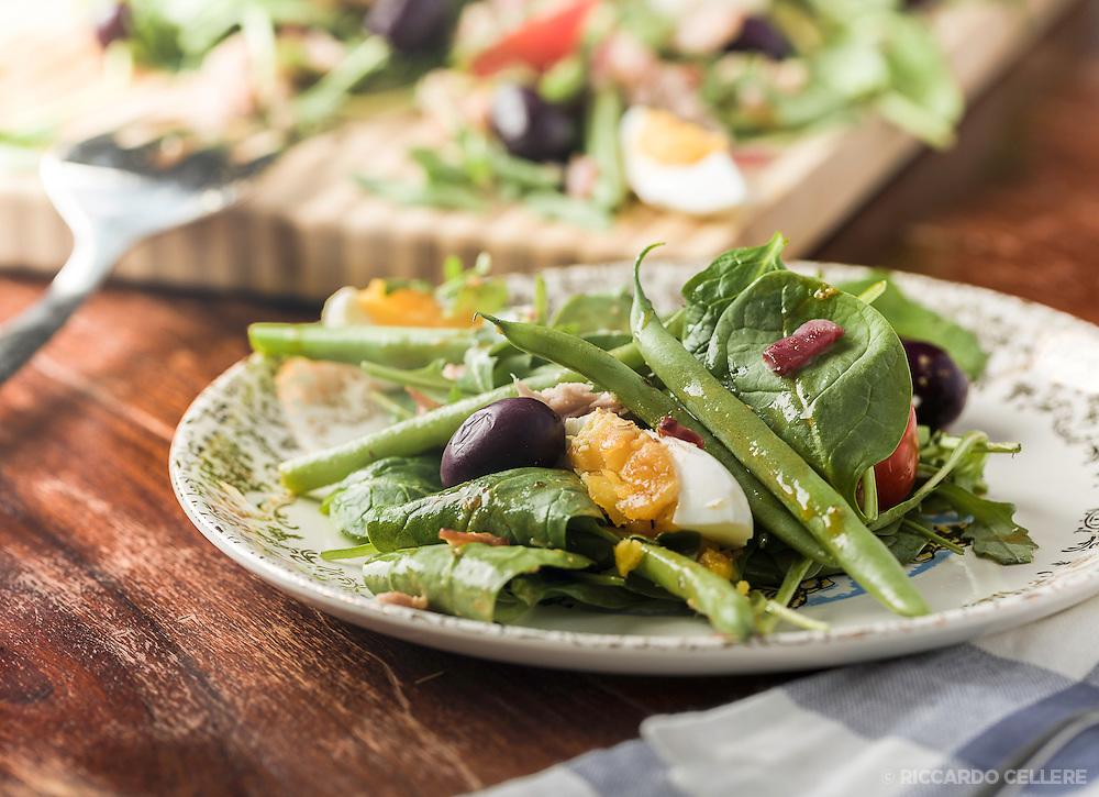 Food Photography. Jo Notkin Salad.