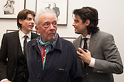 SACHA BAILEY; DAVID BAILEY; FENTON BAILEY, Opening of Bailey's Stardust - Exhibition - National Portrait Gallery London. 3 February 2014