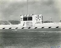 1938 Gilmore Stadium billboard