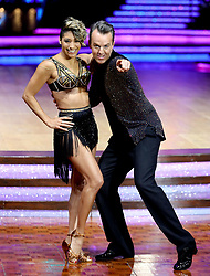 Graeme Swann and Karen Clifton pose for photographers during a photocall before the opening night of the Strictly Come Dancing Tour 2019 at the Arena Birmingham, in Birmingham. Picture date: Thursday January 17, 2019. Photo credit should read: Aaron Chown/PA Wire