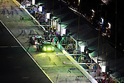 January 30-31, 2016: Daytona 24 hour: #28 Rolf Ineichen, Lance Willsey Franz Konrad, Fabio Babini, Marc Basseng, Konrad Motorsport, Lamborghini Huracán GT3 pitstop