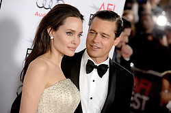 Angelina Jolie Pitt and Brad Pitt attend the AFI FEST 2015 opening Night Gala Premiere of Universal Pictures By The Sea at the TCL Chinese Theatre on November 15, 2015 in Los Angeles, CA, USA. Photo by Lionel Hahn/ABACAPRESS.COM