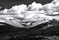 Mountains and clouds, Skagway Summit
