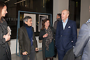HARRY HANDELSMAN; HARRIET QUICK; DYLAN JONES, Editor of Wallpaper: Tony Chambers and architect Annabelle Selldorf host drinks to celebrate the collaboration between the architect and three of Savile Row's finest: Hardy Amies, Spencer hart and Richard James. Hauser and Wirth Gallery. ( Current show Isa Genzken. ) savile Row. London. 9 January 2012.