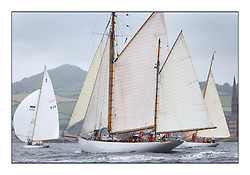 Day two of the Fife Regatta,Passage race to Rothesay.<br /> <br /> Kentra, E & D Klaus, GBR, Gaff Ketch, Wm Fife 3rd, 1923<br /> <br /> * The William Fife designed Yachts return to the birthplace of these historic yachts, the Scotland's pre-eminent yacht designer and builder for the 4th Fife Regatta on the Clyde 28th June–5th July 2013<br /> <br /> More information is available on the website: www.fiferegatta.com