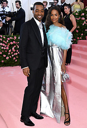 """Chiwetel Ejiofor and Naomie Harris at the 2019 Costume Institute Benefit Gala celebrating the opening of """"Camp: Notes on Fashion"""".<br />(The Metropolitan Museum of Art, NYC)"""