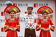 Podium Silvan Dillier (SUI - AG2R - La Mondiale) during the Tour of Guangxi 2018, Stage 3, Nanning - Nanning (125,4 km) on October 18, 2018 in Nanning, China - photo Luca Bettini / BettiniPhoto / ProSportsImages / DPPI