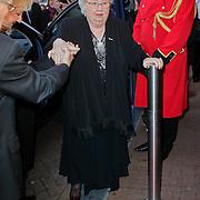 NLD/Amsterdam/20111026- Jubileumconceert Christina Deutekom, aankomst