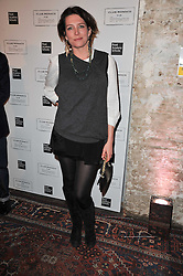 THOMASINA MIERS at a party to celebrate the launch of the CLub Monaco brand at Browns held at the Royal Academy of Art, Piccadilly, London on 19th February 2011.