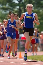 girls 1600 meters, Maine State Track & FIeld Meet - Class B