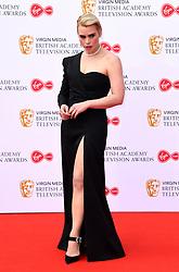 Billie Piper attending the Virgin Media BAFTA TV awards, held at the Royal Festival Hall in London. Photo credit should read: Doug Peters/EMPICS