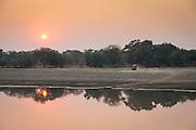 Safari LandRover, Luangwa River Valley, Zambia, Africa