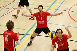 20180324 NED: Topdivisie Maatwerkers VCN - Next Volley Dordrecht, Capelle aan den IJssel <br />Lucas Vroom (2) of Maatwerkers VCN <br />©2018-FotoHoogendoorn.nl / Pim Waslander