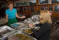 Food prepartations for the Greek Summer Festival.  Karen Bobotas/for the Laconia Daily Sun