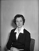 1958 Miss Maureen McMahon