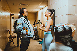 """Pete Wentz releases a photo on Twitter with the following caption: """"""""This one was prob the one I was supposed to pick ? @halsey 📸 @ElliottIngham"""""""". Photo Credit: Twitter *** No USA Distribution *** For Editorial Use Only *** Not to be Published in Books or Photo Books ***  Please note: Fees charged by the agency are for the agency's services only, and do not, nor are they intended to, convey to the user any ownership of Copyright or License in the material. The agency does not claim any ownership including but not limited to Copyright or License in the attached material. By publishing this material you expressly agree to indemnify and to hold the agency and its directors, shareholders and employees harmless from any loss, claims, damages, demands, expenses (including legal fees), or any causes of action or allegation against the agency arising out of or connected in any way with publication of the material."""