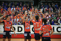 Nicholas Cundy at finals of Slovenian volleyball cup between OK ACH Volley and OK Salonit Anhovo Kanal, on December 27, 2008, in Nova Gorica, Slovenia. ACH Volley won 3:2.(Photo by Vid Ponikvar / SportIda).