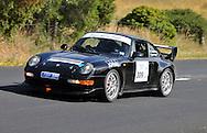 Ian Knight & Cameron Bacon.1995 Porsche 911 Carrera RS CS.Day 2.Targa Wrest Point 2009.Southern Tasmania.1st of February 2009.(C) Joel Strickland Photographics.