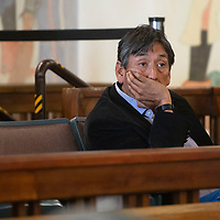Steve Grey, Director of Governmental and External Affairs at Navajo Transitional Energy Company at the Navajo Nation Council Chambers Thursday, Oct. 10 in Window Rock.
