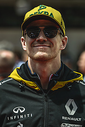 May 13, 2018 - Barcelona, Catalonia, Spain - NICO HULKENBERG (GER), Renault, is presented to the crowd prior the Spanish GP at Circuit de Barcelona - Catalunya (Credit Image: © Matthias Oesterle via ZUMA Wire)