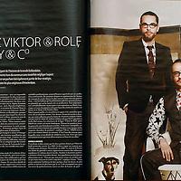 USE ARROWS ← → on your keyboard to navigate this slide-show<br /> <br /> Gentleman - Belgian magazine<br /> Portrait of fashion designers Viktor & Rolf<br /> Photos: Ezequiel Scagnetti<br /> Text: Veerle Windels