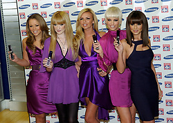 Girls Aloud<br /> in store PA at Phones 4 U Oxford Street, London, Great Britain October 17 2007<br /> <br /> Photograph by Elliott Franks