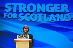 Scotland: SNP conference, 13 Oct. 2016