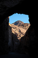 United States, California, Death Valley. Natural Bridge Canyon contains a natural stone bridge.