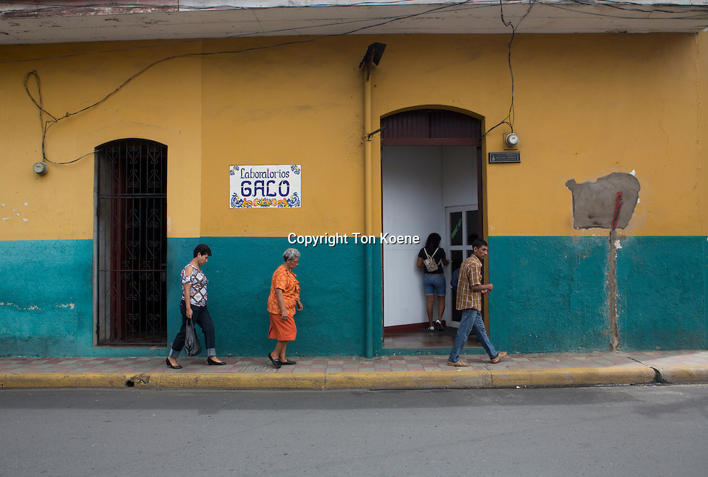 public toilet in nicaragua