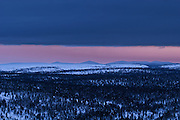 """Nattaset fells in Lapland, Finland. The word """"nattaset"""" mean breasts. Saami people regard these two fells as a holy place."""
