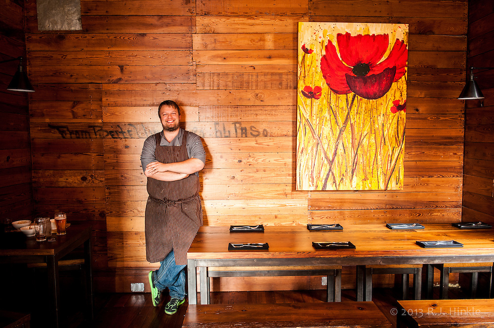 Timothy Rattray, Pitmaster, Chef and owner at the Granary 'Cue & Brew in San Antonio, Texas.