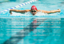 Katja Hajdinjak of Olimpija Ljubljana competes in 100m Butterfly during Slovenian Swimming National Championship 2014, on August 3, 2014 in Ravne na Koroskem, Slovenia. Photo by Vid Ponikvar / Sportida.com
