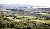 PORTRUSH - Hole 4 en 10. ROYAL PORTRUSH GOLF CLUB. The Dunluce Championship Course.COPYRIGHT KOEN SUYK