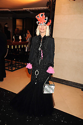 VIRGINIA BATES at the 2008 British Fashion Awards held at the Lawrence Hall, Westminster, London on 25th November 2008.