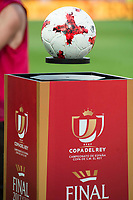Official ball floating during Copa del Rey (King's Cup) Final between Deportivo Alaves and FC Barcelona at Vicente Calderon Stadium in Madrid, May 27, 2017. Spain.<br /> (ALTERPHOTOS/BorjaB.Hojas)