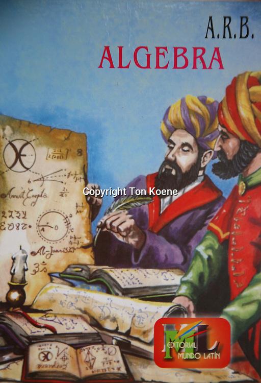 Schoolbook in Jordan