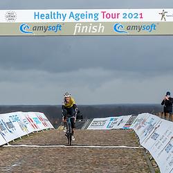 12-03-2021: Wielrennen: Healthy Ageing Tour: Wijster<br />Ellen van Dijk wint de eindklassement van de Helathy Ageing Tour