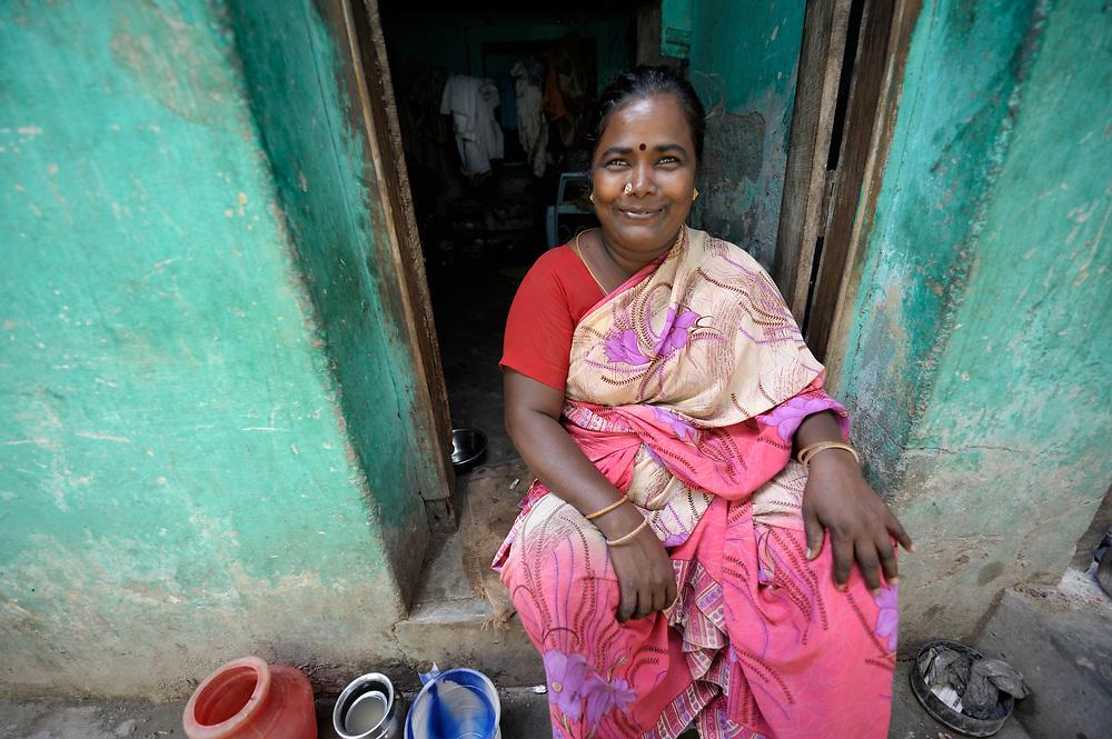 A woman in Madurai, a city in Tamil Nadu state in southern India.