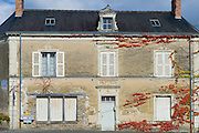 Traditional French house at Chemire-Sur-Sarthe, France