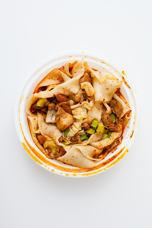 Mount Qi Pork Hand-ripped Noodles from Xi'an Famous Foods 23rd st ($11.30)