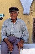 Local man in Ia, Santorini (Thira),The Cyclades, Greece