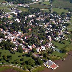 Aerial Photograph of Old New Castle, DE